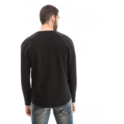Edward Jeans 18.1.1.93.016 ELON-F SWEATSHIRT ΦΟΥΤΕΡ-ΜΠΛΟΥΖΕΣ
