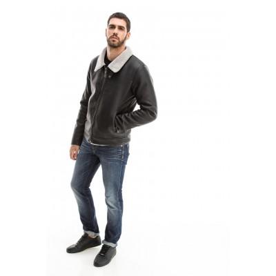 Edward Jeans 18.8.1.02.007 DONTRELL MEN's JACKET ΜΠΟΥΦΑΝ