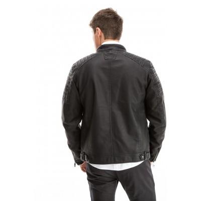 Edward Jeans 18.8.1.02.011 DARIAN MEN'S JACKET ΜΠΟΥΦΑΝ