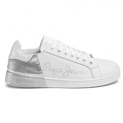 PEPE JEANS Brompton Sequins PLS30965 Silver 934 ΓΥΝΑΙΚΑ