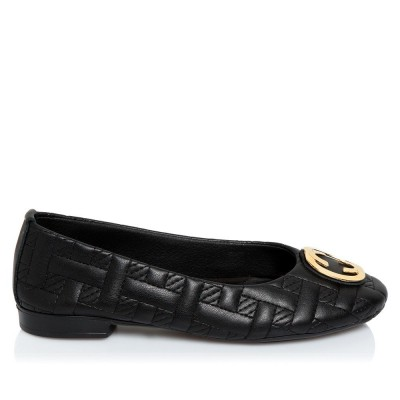 Sante Ballerinas 20-459-01 Black ΓΥΝΑΙΚΑ