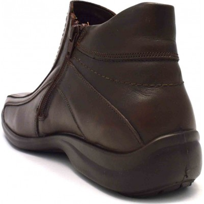 Boxer 16106-21-014 Brown LEATHER ΑΝΤΡΑΣ