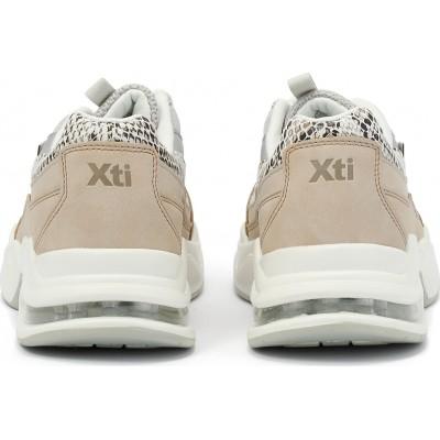 Γυναικεία Sneakers Xti 49985 Beige ΓΥΝΑΙΚΑ