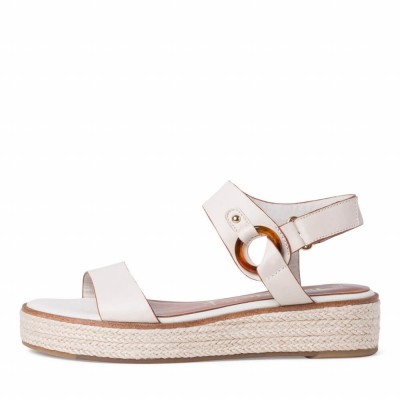 Tamaris 1-28235-26 418 Ivory Sandals  ΓΥΝΑΙΚΑ