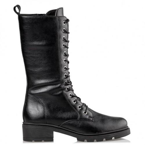 Envie COMBAT BOOTS E02-12160-34 Black