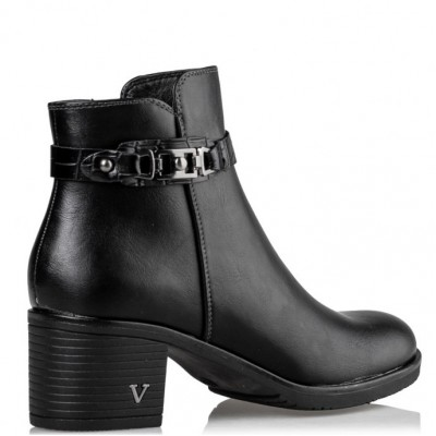 Envie MID HEEL BOOTIES V63-12223-34 Black ΓΥΝΑΙΚΑ