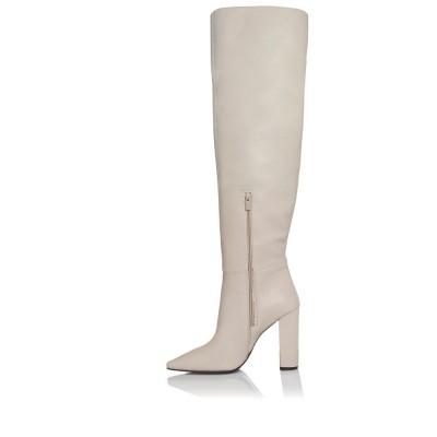 Sante Boots 20-551-16 Off White ΓΥΝΑΙΚΑ