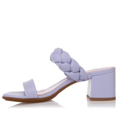 Sante Mules Sandals 21-211-56 Λιλά ΓΥΝΑΙΚΑ
