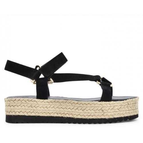 Sante Day2Day Sandals 21-120-01 Black ΓΥΝΑΙΚΑ