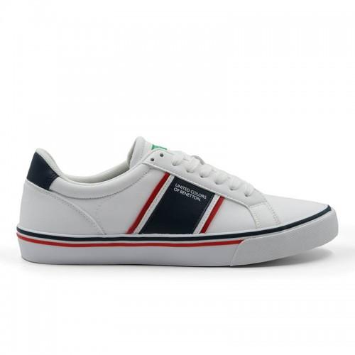 Sneaker United Colors of Benetton Crispy Ltx BTM110220-1032 White