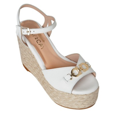 Sante Day2Day Wedges 21-145-09 White ΓΥΝΑΙΚΑ