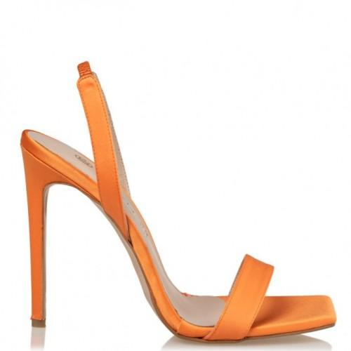 Envie Shoes E02-13175-46 SATIN STILETTO SANDALS
