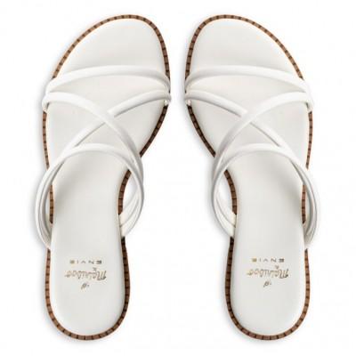 Γυναικεία Πέδιλα MAIRIBOO FOR ENVIE ΛΗΤΩ M03-13857-33 White ΓΥΝΑΙΚΑ