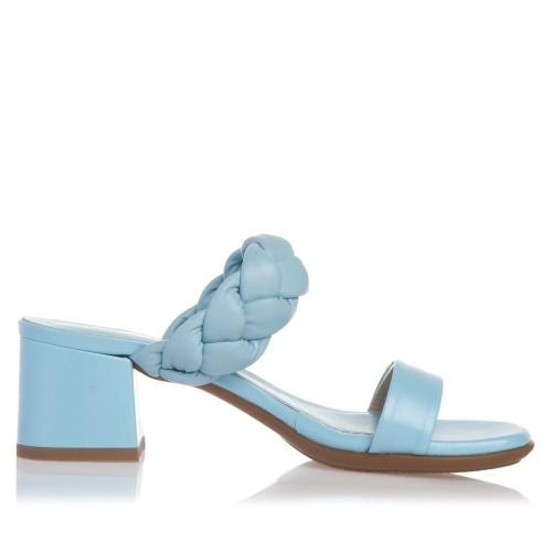 Sante Mules Sandals 21-211-39 Γαλάζιο ΓΥΝΑΙΚΑ