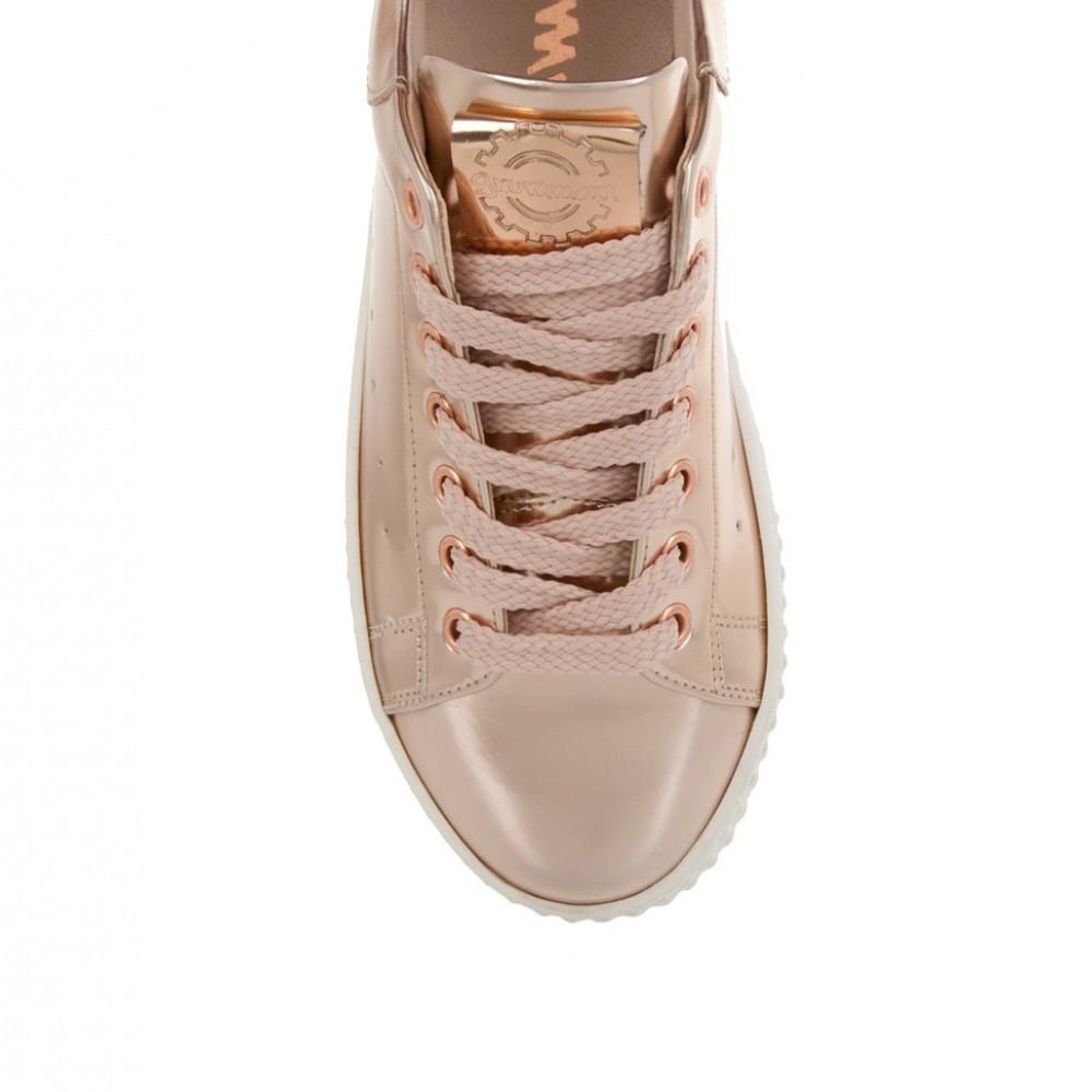 8b32d85139f Sante Grumman Γυναικεία Sneakers Ροζ Χρυσό 95171-07