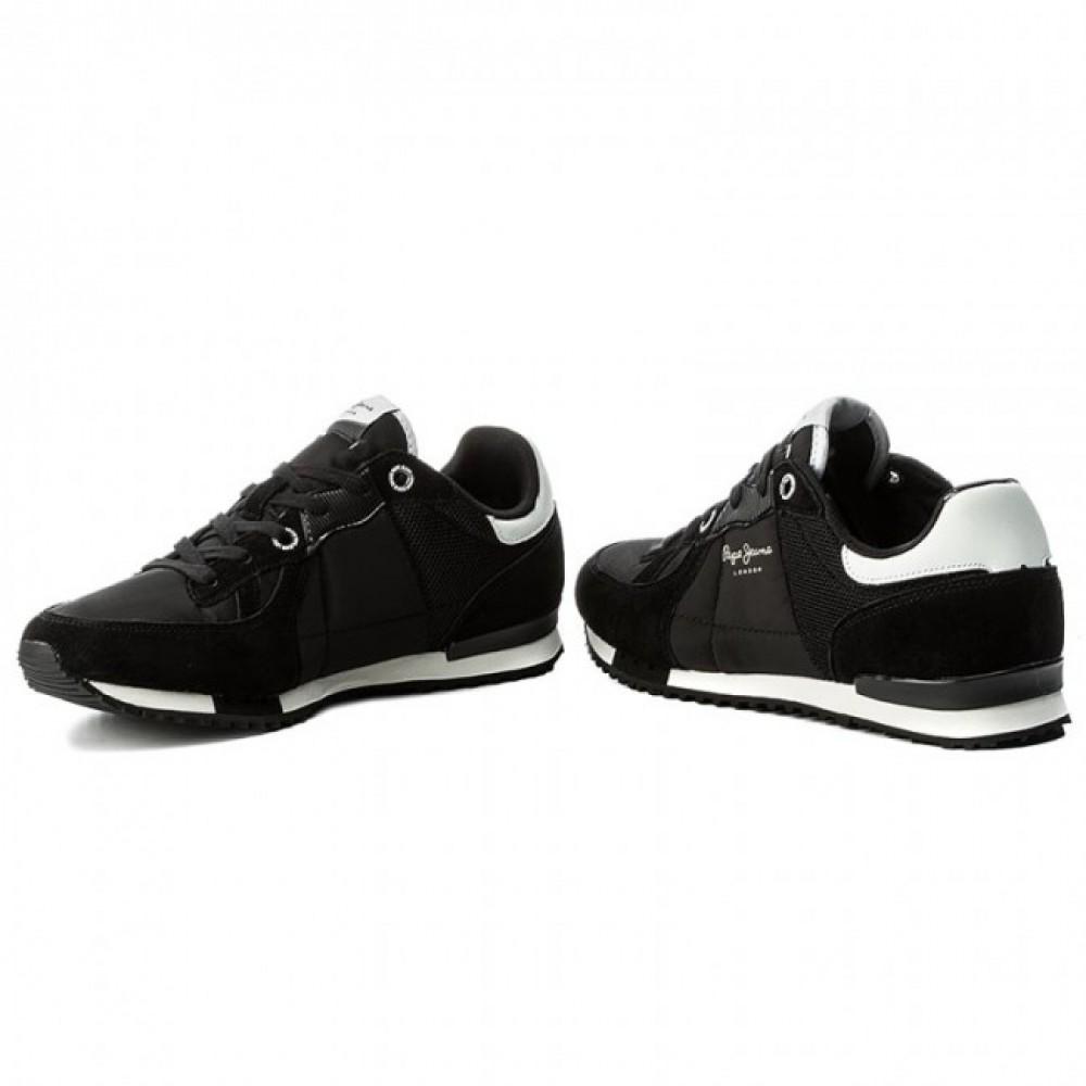 88b1705ef8b ... Ανδρικά Παπούτσια Pepe Jeans tinker bold 17 PMS30378 999 black Casual  ...