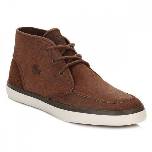 Lacoste Mens Brown Sevrin Mid 416 1 CAM 7-32cam0034078