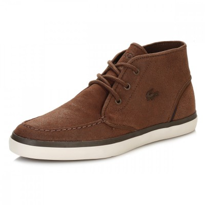 Lacoste Mens Brown Sevrin Mid 416 1 CAM 7-32cam0034078 Casual