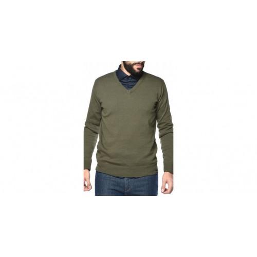 CAMARO 17501-813-11 Khaki Πλεκτή Μπλούζα