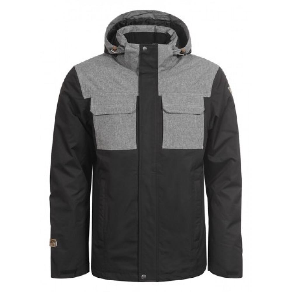 -30% icepeak m jacket TAY Ανδρικό Μπουφάν Μαύρο-Γκρί Icepeak 73d1ff7750c