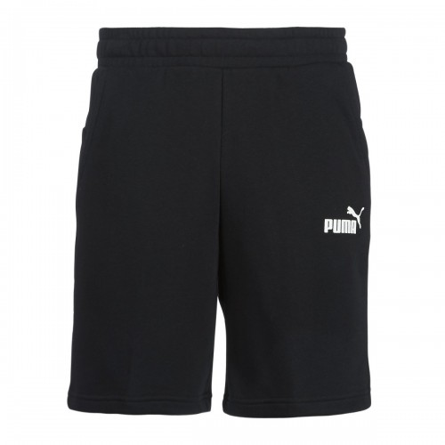 Men's Puma - Essentials Sweat Shorts in Black | 851769-01