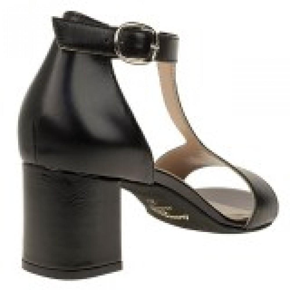 Γυναικεία Πέδιλα BOXER 59065 Leather Black 1e5756dea5b