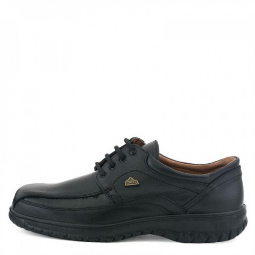 7443ae97f90 Ανδρικά Δετά Casual BOXER 14723 Leather Black ΑΝΤΡΑΣ