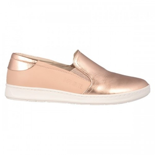 8e58740d508 Γυναικεία Loafers Impronte IL 181573 Leather Nude Pink Gold ΓΥΝΑΙΚΑ