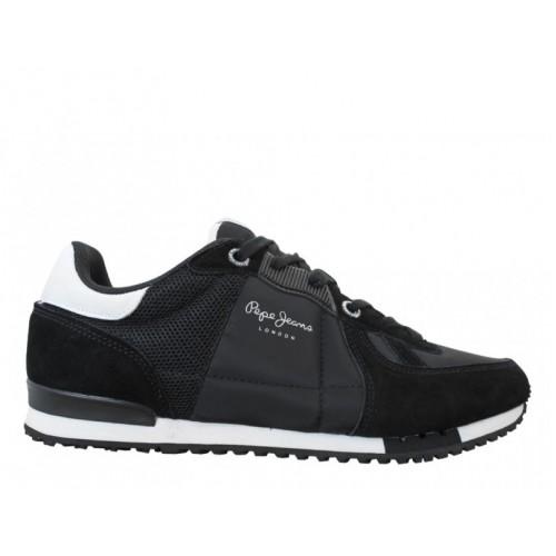 Ανδρικά Παπούτσια Pepe Jeans tinker bold 17 PMS30378 999 black Casual