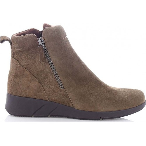 Ragazza 0173 Puro Suede Leather Booties