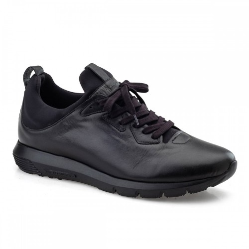Sneakers BOXER 19003-10-011 Leather Black ΑΝΤΡΑΣ