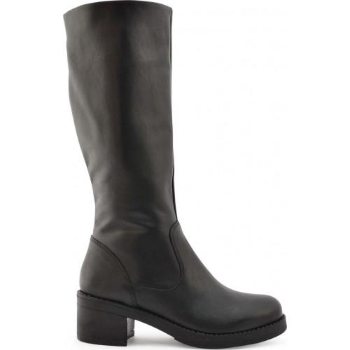 213c11ca8c Ragazza 0638 Black Leather Boots ΓΥΝΑΙΚΑ
