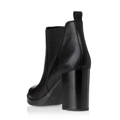 Sante Grumman Booties 19-527-01 Black ΓΥΝΑΙΚΑ